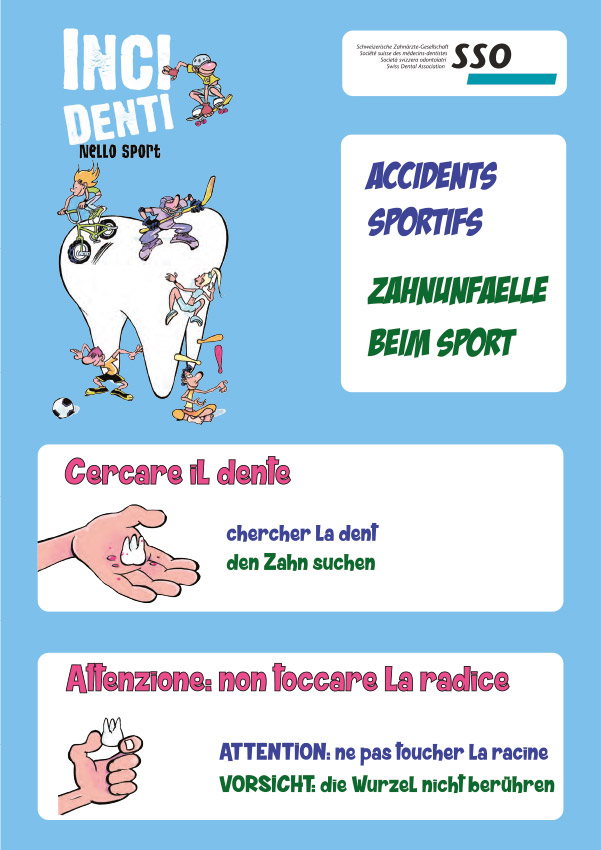 Urgenze dentali sport